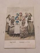 Carte Postale Typy Polskie Volkstypen Aus Polen 1916 - Polonia