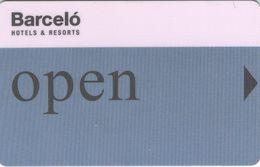 SPAGNA KEY HOTEL Barceló - Open - Cartes D'hotel