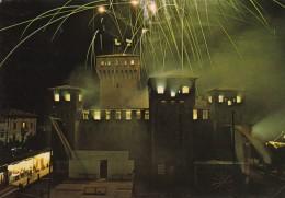 AN66 San Felice Sul Panaro, Incendio Della Rocca Estense - Fireworks - Modena