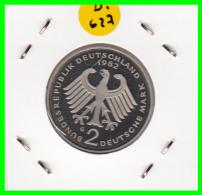 ALEMANIA - GERMANY  MONEDA DE 2.00 DM  AÑO 1982-G  KONRAD ADENAUER CALIDAD PROOF S/C - [ 7] 1949-… : RFA - Rep. Fed. Alemana