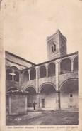SAN SEVERINO (MARCHE) IL DUOMO VECCHIO.IL CORTILE(XIII SECOLO)EDIT O NATALINI.CIRCA 1900s ITALY/ITALIE-BLEUP - Chiese E Cattedrali