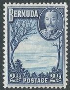 Bermuda. 1936-47 KGV. 2½d MH. SG 102 - Bermuda