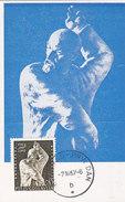 YU MAXIMUM CARD LENIN OCTOBER REVOLUCI  1917-1967 - Escultura