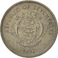 Seychelles, Rupee, 1992, British Royal Mint, TTB, Copper-nickel, KM:50.2 - Seychelles
