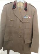 Giacca Militare Secondo Dopoguerra Con Mostrine. - Divise
