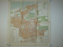 Kaart Carte Map - Plattegrond Van 'S Gravenhage En Scheveningen - Uitgave J. Smulders & Co - Cartes Géographiques