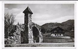 CPSM - MONNETIER - Le Portique Du Château - Chalet Et Le Petit Salève - Altri Comuni