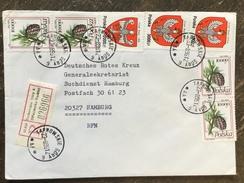 E16 Polen Poland Pologne 1996 R-Brief Von Tarnowskie Gory An Das Rote Kreuz In Hamburg - 1944-.... République