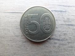 Bielorusse  50  Kopeks  2009  Km !!! - Belarus