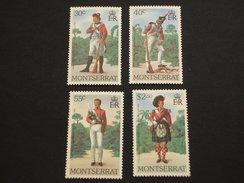 MONTSERRAT - 1979 UNIFORMI 4 VALORI - NUOVO(++) - Montserrat