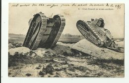 Chars Renault En Terrain Accidenté    *   Guerre - Tank - Char D'assaut - Oorlog - War - WW1 - War 1914-18