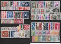 BELGIQUE - 1941/1960 COLLECTION FOURNIE * (SANS BLOCS, PA Et QUELQUES SERIES EPARSES) - COTE ENV. 2000 EUR - 5 SCANS - Belgique