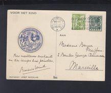 Postkaart Voor Het Kind 1939 - Briefe U. Dokumente