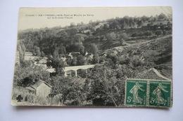 CPA 23 CREUSE FRESSELINES. Pont Et Moulin De Vervy. - Sonstige Gemeinden
