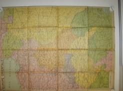 Kaart Carte Map - Europe Orientale - Oost Europa - Ed.De Rouck Bruxelles - Geographical Maps