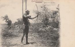 CASAMANCE   Sénégal    Diola Tirant De L'Arc - Senegal