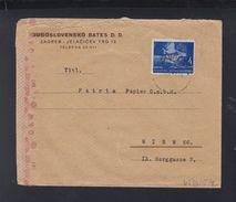 Croatia Cover To Vienna Censor - Croatia
