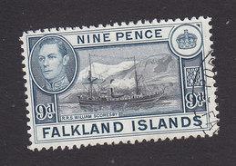 Falkland Islands, Scott #90, Used, George VI And Scenes Of Falkland Islands, Issued 1938 - Falkland Islands