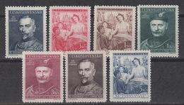 CZECHOSLOVAKIA: Yvert 460-66 – Feast Of The Sokols - MNH ** (1948) - Czechoslovakia