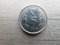 Inde  5  Rupees  2016  Km !!! - India