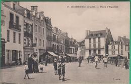 44 - Le Croisic - Place D'Aiguillon - Editeur: Chapeau N°11 - Le Croisic