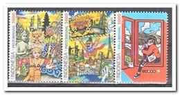 Indonesië 2017, Postfris MNH, Postcrossing With Plate Error - Indonesië