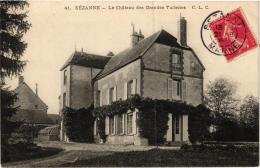 SEZANNE CHATEAU DES GRANDES TUILERIES    REF 54269 - Sezanne