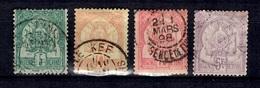 Tunisie Maury N° 3, N° 6, N° 7 Et N° 17 Oblitérés. B/TB. A Saisir! - Tunesien (1888-1955)