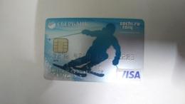 Russia-credit Card-chip-(273)-(1283-597)-1card Prepiad Free - Geldkarten (Ablauf Min. 10 Jahre)