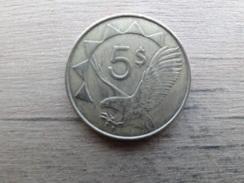Namibie  5  Dollars  2012  Km 5 - Namibia