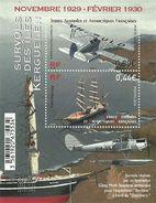 2016 -Taaf - Bloc-Feuille / 1er  Survol Des Îles Kerguelen / 1929- 1930 / - Blocks & Kleinbögen