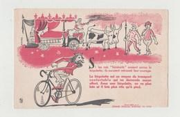 BUVARD LA BICYCLETTE Buvard édité Par La Chambre Syndicale Nationale Du Cycle - Transports