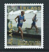 Aland / Aaland 2002 Janne Holmén - Winner In The Men's Marathon In The European Athletics Championships.sport.MNH - Aland