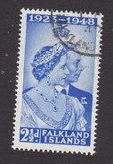 Falkland Islands, Scott #99, Used, Silver Wedding, Issued 1948 - Falkland