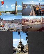 Liège - Lot 5 CPM (animée, Panorama,....scans Réalisés à Voir) (lot L18) - Luik