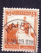 Palästina - Zitadelle, Jerusalem (MiNr: 56A) 1927 - Gest Used Obl - Palestine