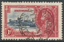 Bermuda. 1935 KGV Silver Jubilee. 1d Used. SG 94 - Bermuda