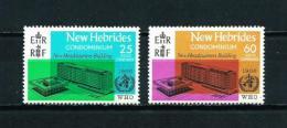 Nuevas Hébridas (Británicas)  Nº Yvert  247/8  En Nuevo - Leyenda Inglesa