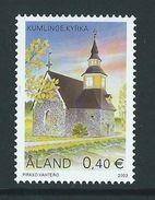 Aland / Aaland 2003 Church Of Kumlinge.Architecture/Buildings/Churches.**MNH - Aland