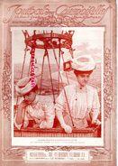 JOURNAL DES DEMOISELLES- SEPT. 1910- AVIATION MME SURCOUF ET MLLE GACHE 1ERES FEMMES EN BALLON MONTGOLFIERE - Sciences