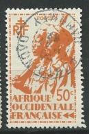 AOF - Yvert N° 7 Oblitéré   CAD Porto Novo Dahomey   Ah 22305 - A.O.F. (1934-1959)