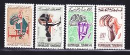 TUNISIE N°  529 à 532 ** MNH Neufs Sans Charnière, TB  (D1538) - Tunisie (1956-...)