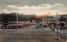 Bridge Street - Mataura - 1911 - Nouvelle-Zélande