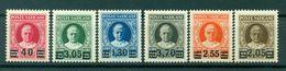"""Vatican 1934 - Y & T. N. 60/65 - Timbres De 1929 Surchargés. Série Dit """"Provvisoria"""" - Nuovi"""