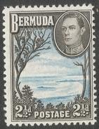 Bermuda. 1938-52 KGVI. 2½d MH. SG 113b - Bermuda