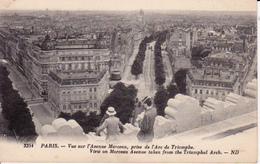 Paris - Vue Sur L'Avenue Marceau, Prise De L'Arc De Triomphe - Début 20e Siècle - France