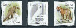 Aland / Aaland  2004 Predators.Fauna/Mammals/Weasels.Foxes.Martens.**MNH - Aland