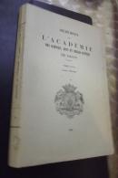 Memoires De L'academie Des Sciences Arts Et Belles Lettres  Dijon 1963-65 T Cxvii 1969 - Bourgogne