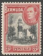 Bermuda. 1938-52 KGVI. 3d MH. SG 114 - Bermuda