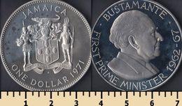 Jamaica 1 Dollar 1971 - Jamaica